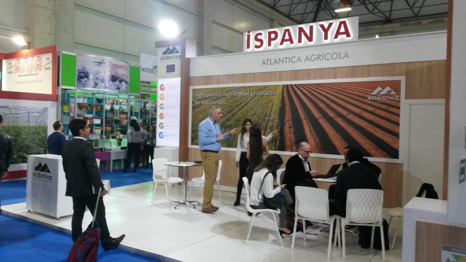 Atlántica Agrícola, a través de Agragex Spain, participó en GROWTECH EURASIA (27-30 Noviembre, Turquía).